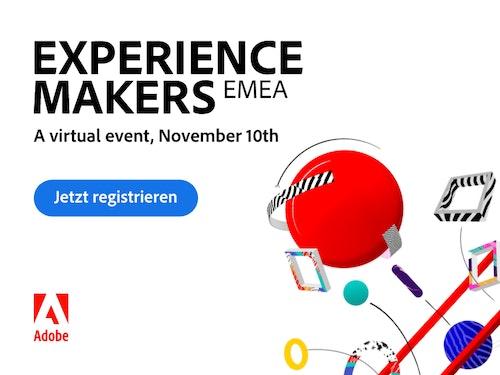 Adobe Experience Makers EMEA 2021