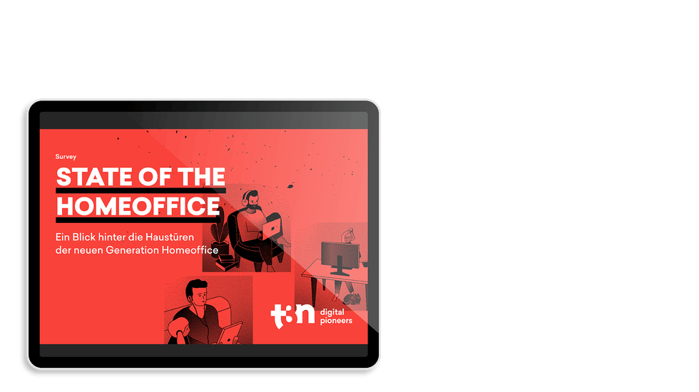 """Das Cover der t3n Survey """"State of the Homeoffice"""""""