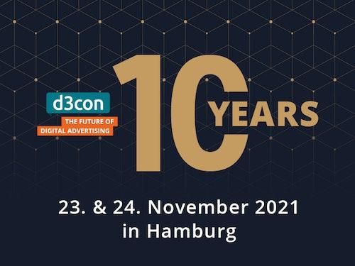 d3con 2021 – zehn Jahre d3con